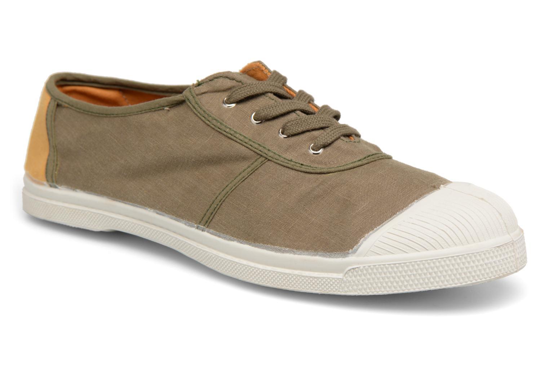 Bensimon - Herren - Linenoldies - Sneaker - grün UU6OF