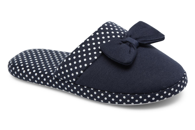 Chaussons Sarenza Wear Chaussons Femme Nœuds & Poids Bleu vue détail/paire
