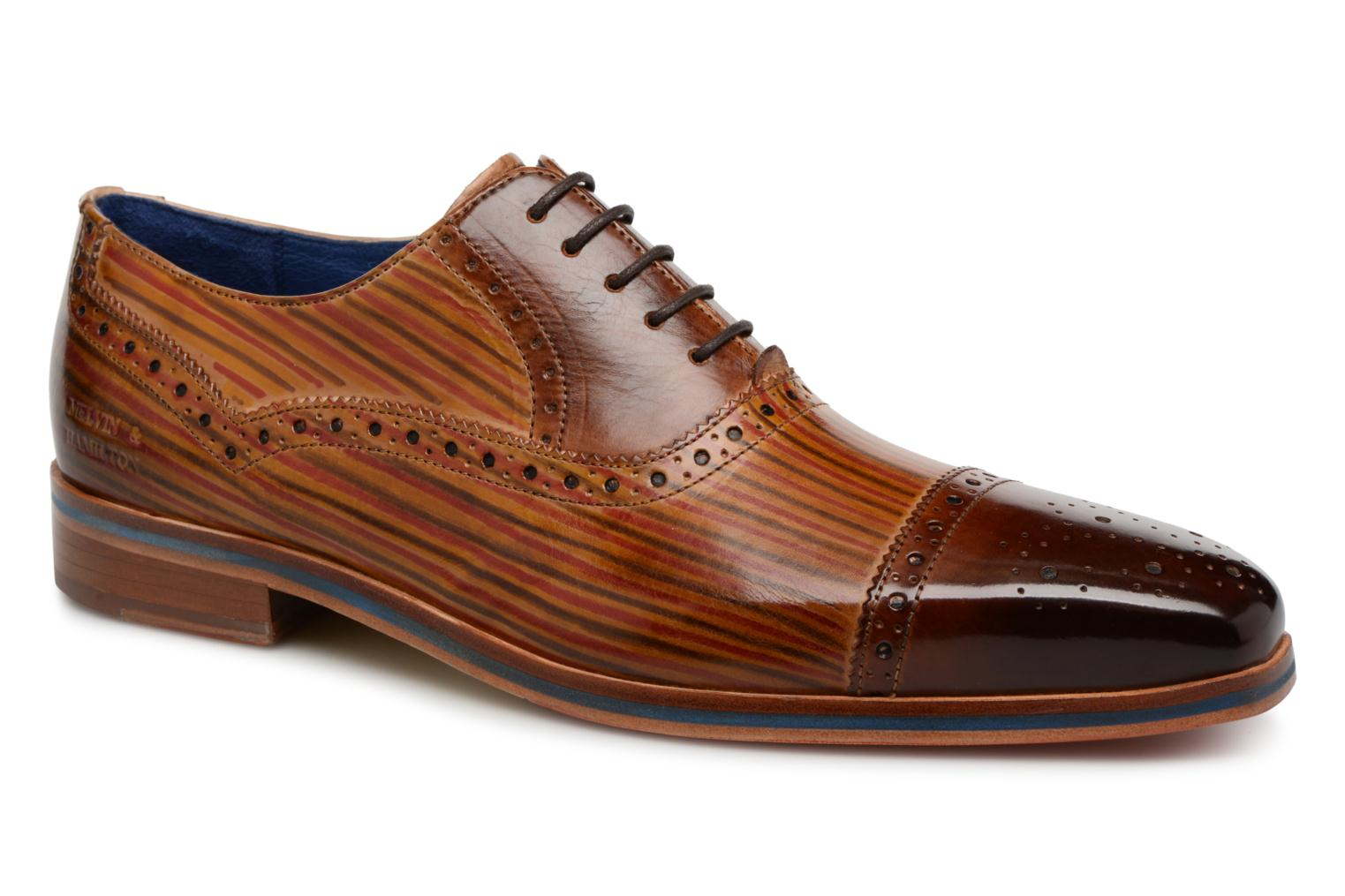 Marques Chaussure homme Melvin & Hamilton homme Lewis 36 Crust tan /sand line dark brown yellow red