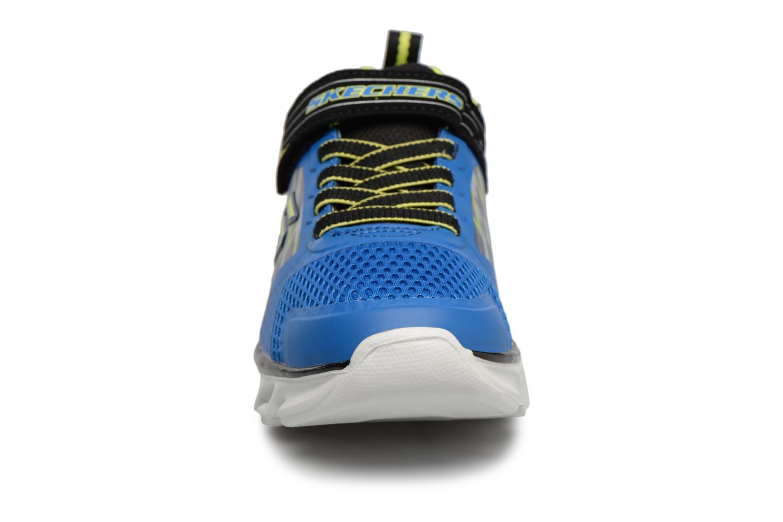 Baskets Skechers Hypno-Flash Tremblers Bleu vue portées chaussures