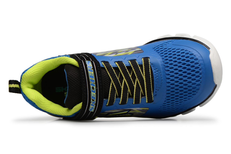 Baskets Skechers Hypno-Flash Tremblers Bleu vue gauche