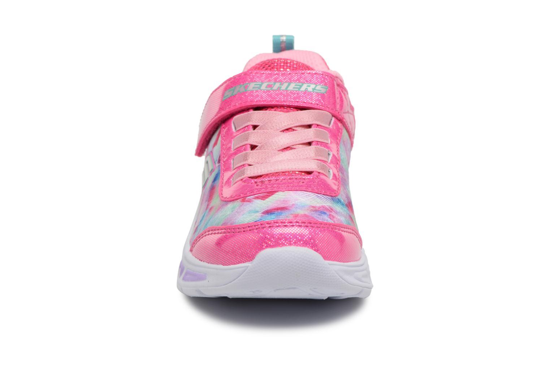 Sneakers Skechers Litebeams Dance N' Glow Pink se skoene på