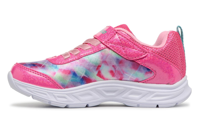 Sneakers Skechers Litebeams Dance N' Glow Pink se forfra