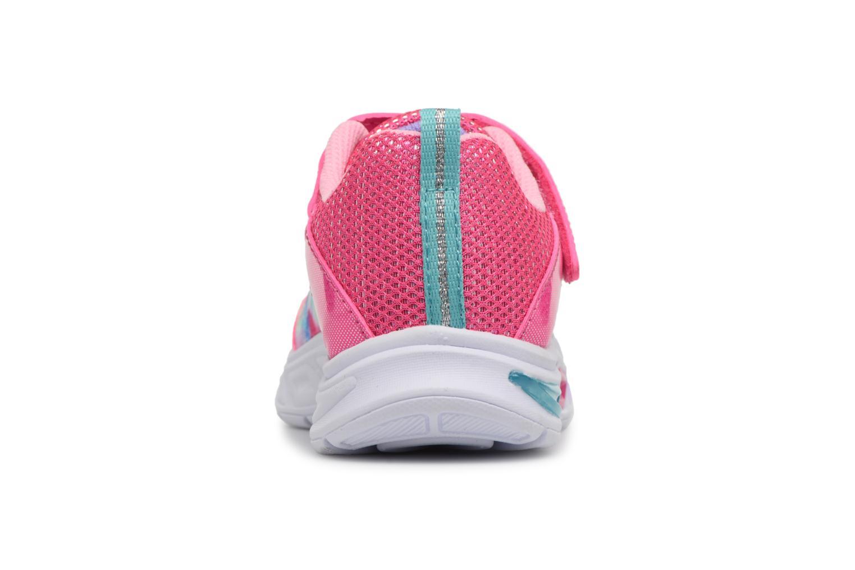 Sneakers Skechers Litebeams Dance N' Glow Pink Se fra højre