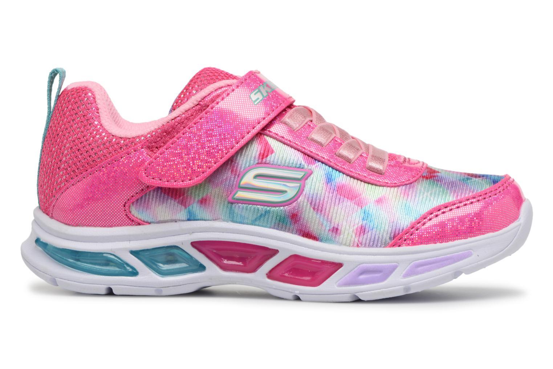 Sneakers Skechers Litebeams Dance N' Glow Pink se bagfra
