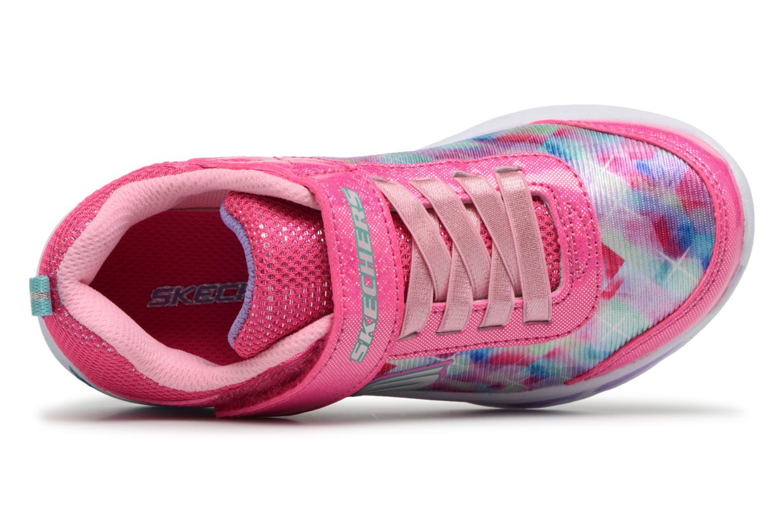 Sneakers Skechers Litebeams Dance N' Glow Pink se fra venstre