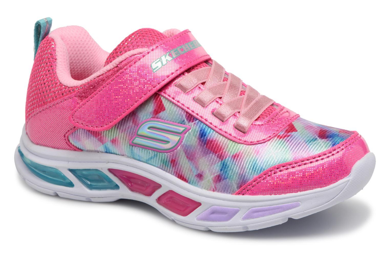 Sneakers Skechers Litebeams Dance N' Glow Pink detaljeret billede af skoene