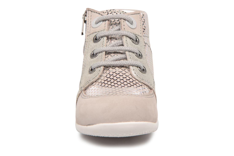 Bottines et boots Kickers Baraka Kids Gris vue portées chaussures