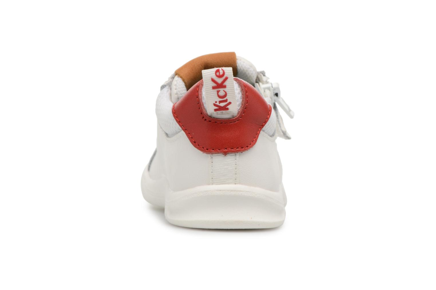 Blanc rouge Kickers Chicago Bb (Blanc)
