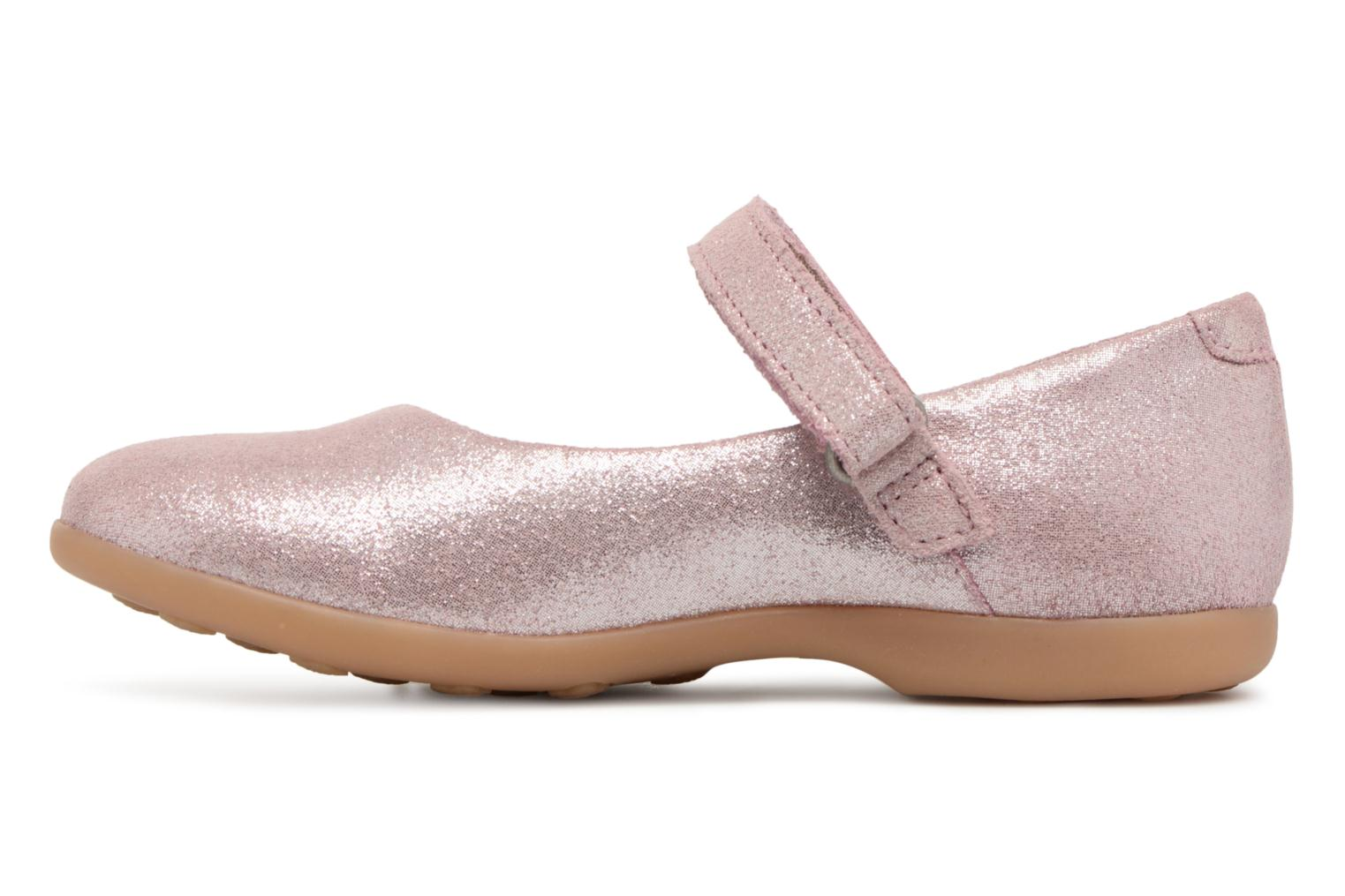 Ballerines Kickers Ambellie Rose vue face