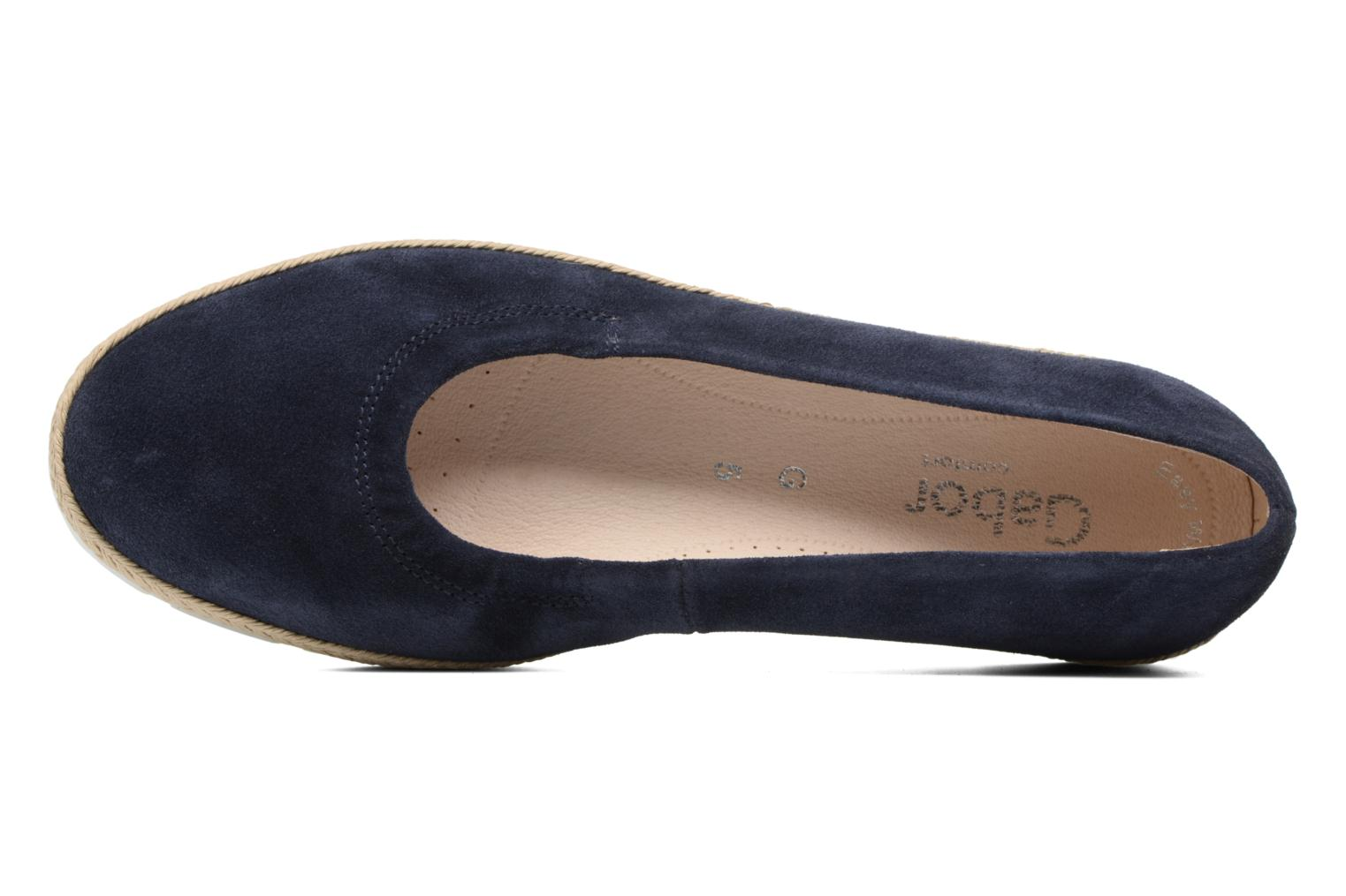 Ballet pumps Gabor Ronie Blue view from the left
