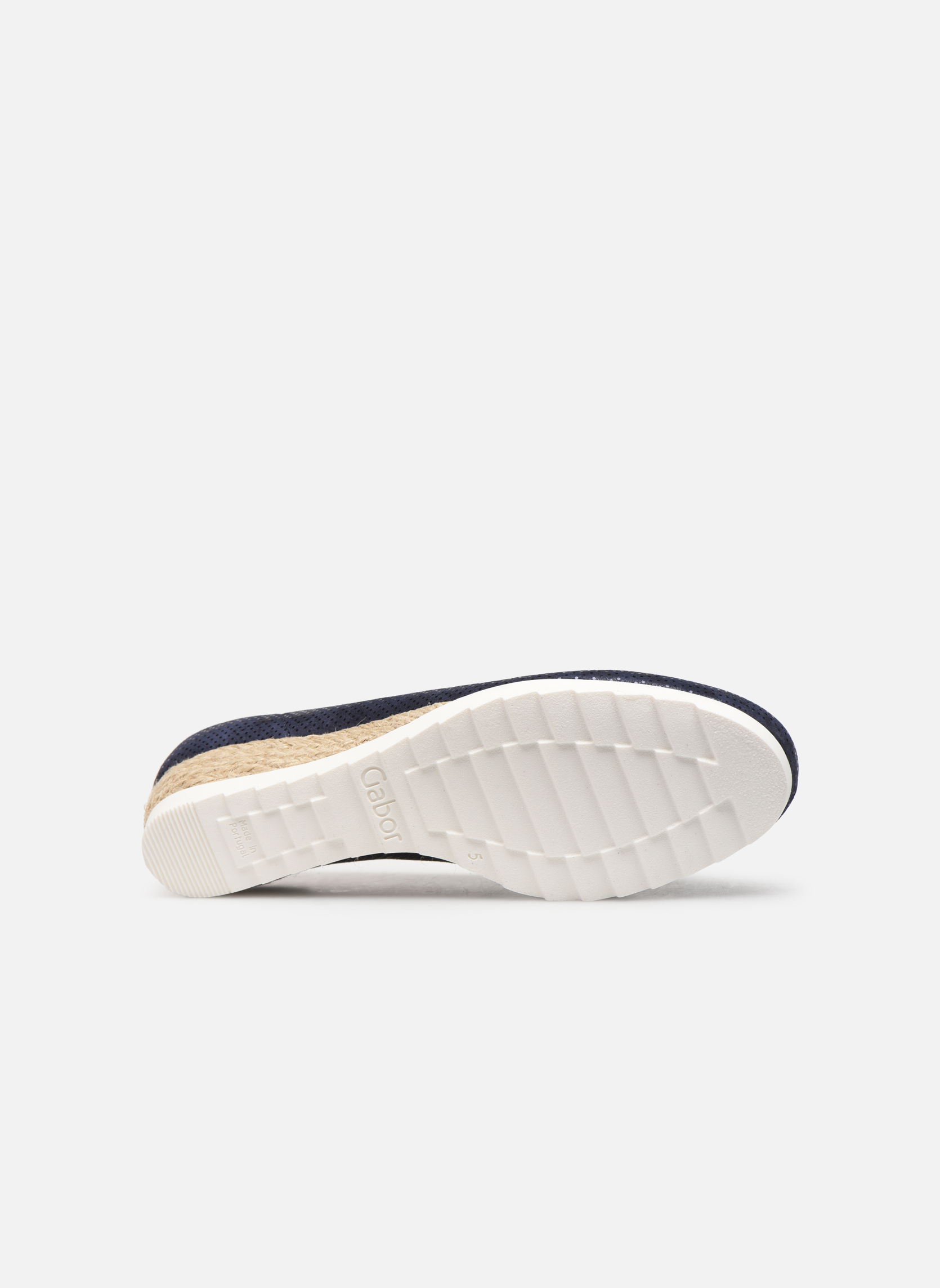 Ballet pumps Gabor Novara Blue view from above