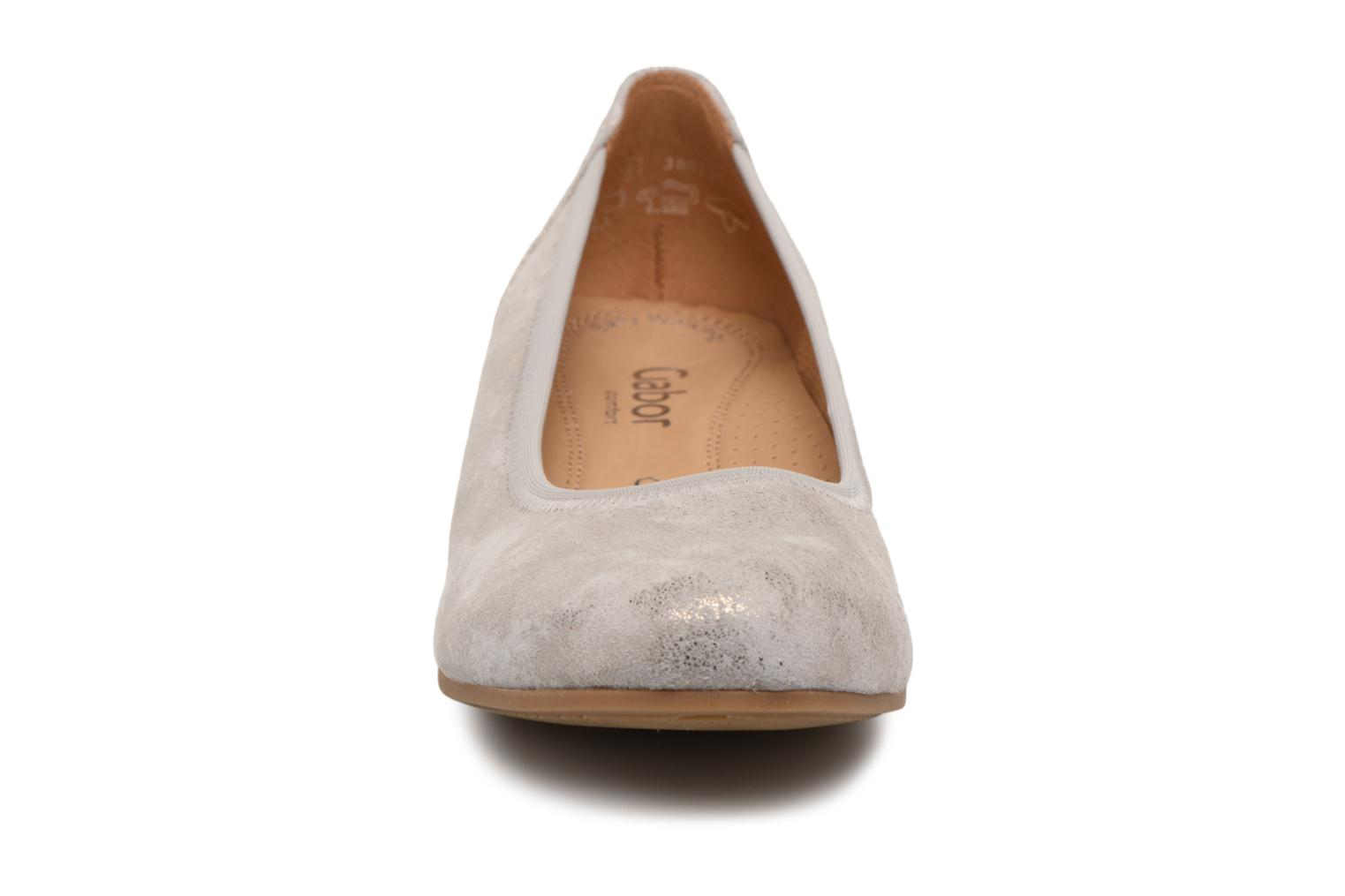 Ballet pumps Gabor Solari Silver model view