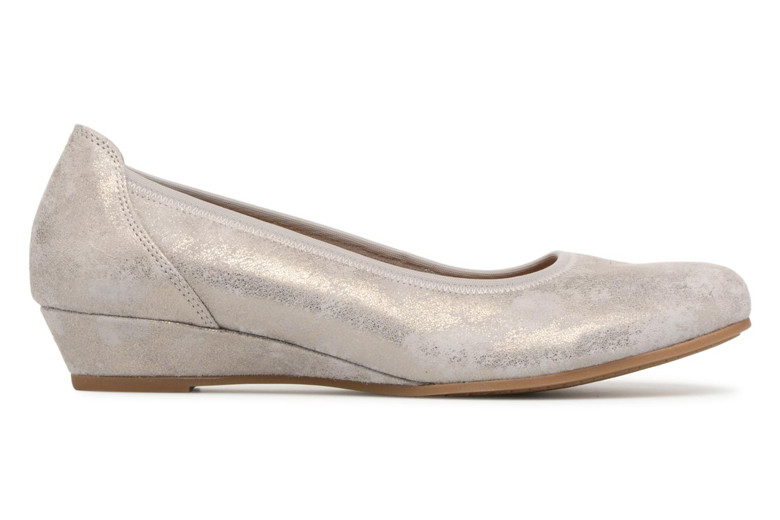 Ballet pumps Gabor Solari Silver back view