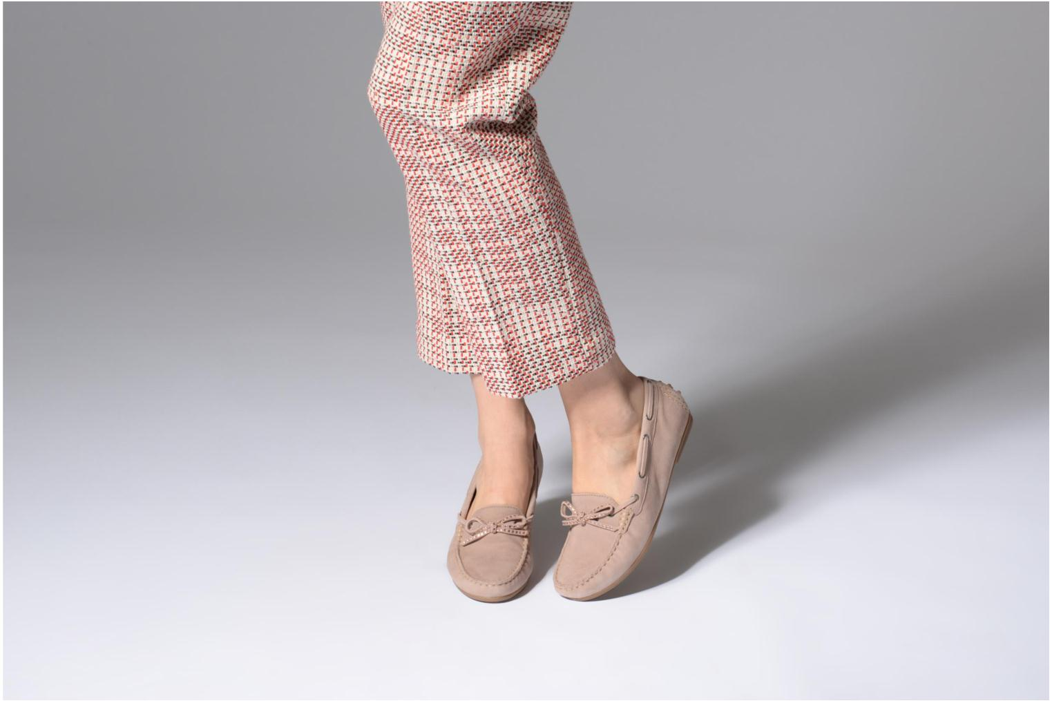 Loafers Gabor Genova Pink view from underneath / model view