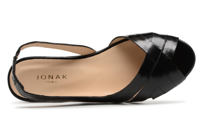 Sandales et nu-pieds Jonak DOUSSOU Noir vue gauche