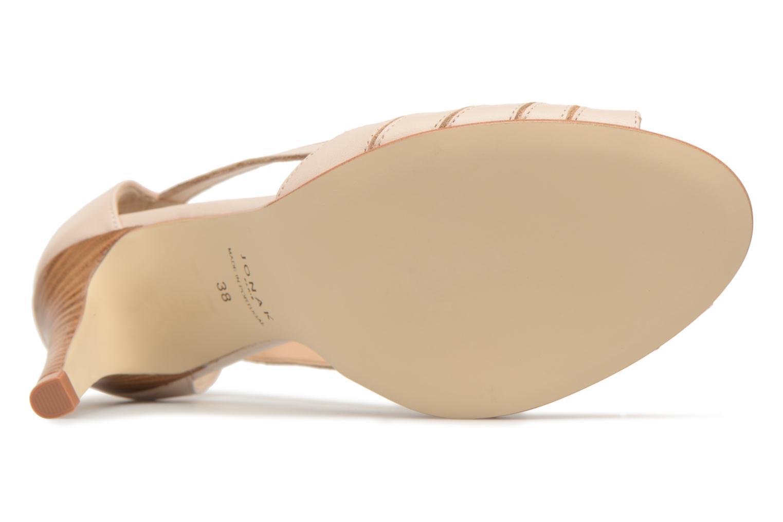 Sandales et nu-pieds Jonak DAGILO Beige vue haut