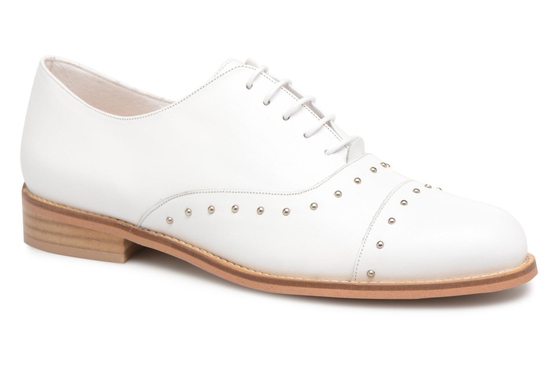 Zapatos promocionales Jonak DOMUS (Blanco) - Zapatos con cordones   Venta de liquidación de temporada
