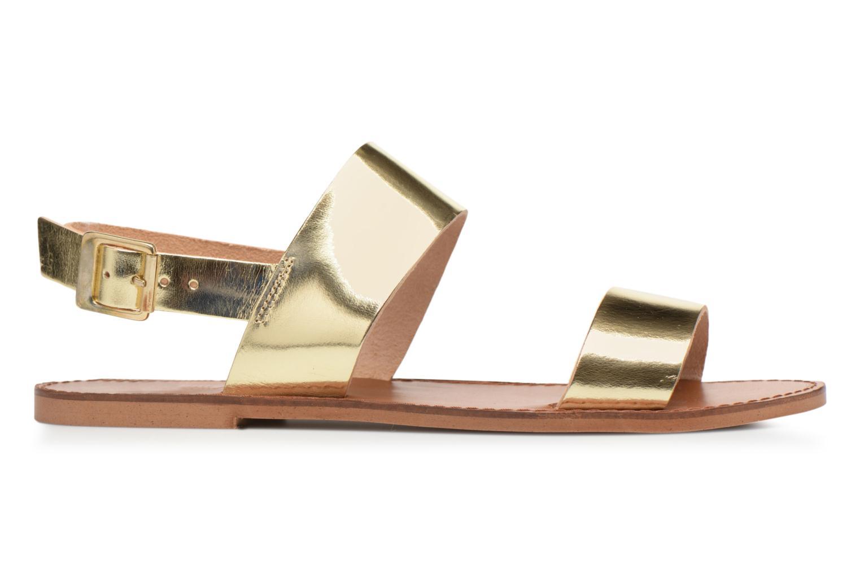 Sandales et nu-pieds Jonak SUN Or et bronze vue droite