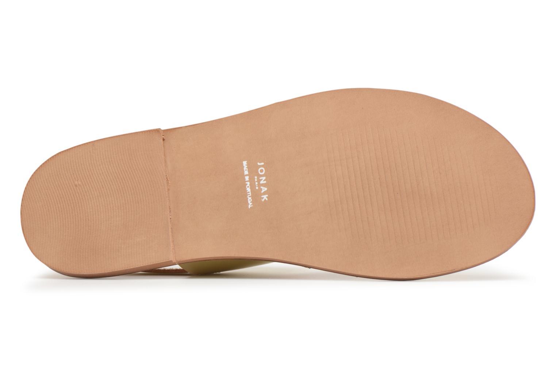 Sandales et nu-pieds Jonak SUN Or et bronze vue gauche
