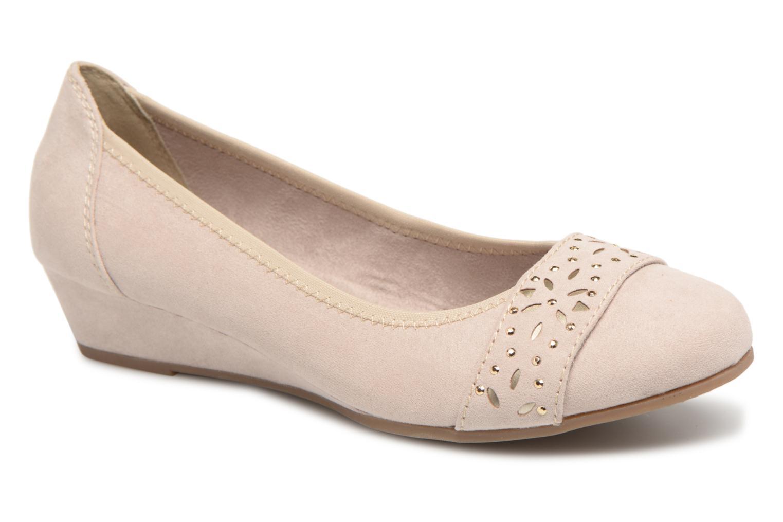Jana shoes Blasa (Beige) - Ballerines chez Sarenza (322350)