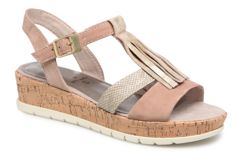 Jana shoes Cristi (Beige) - Sandales et nu-pieds chez Sarenza (322429)