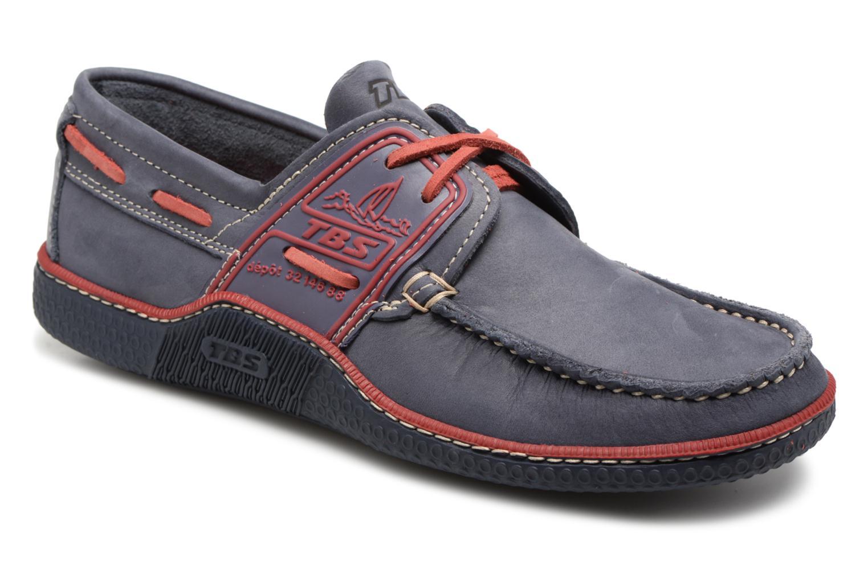 TBS Globek--D8182 (Bleu) - Chaussures à lacets chez Sarenza (322481)