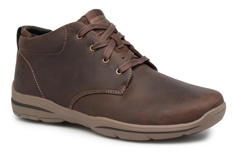 Scarpe con lacci Skechers Harper-Melden Marrone vedi dettaglio/paio