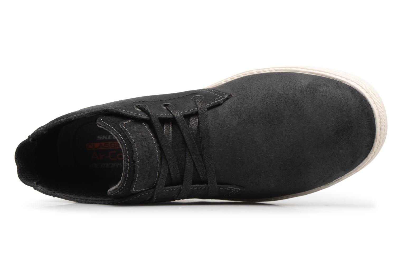 Bottines et boots Skechers Droven-Evado Noir vue gauche