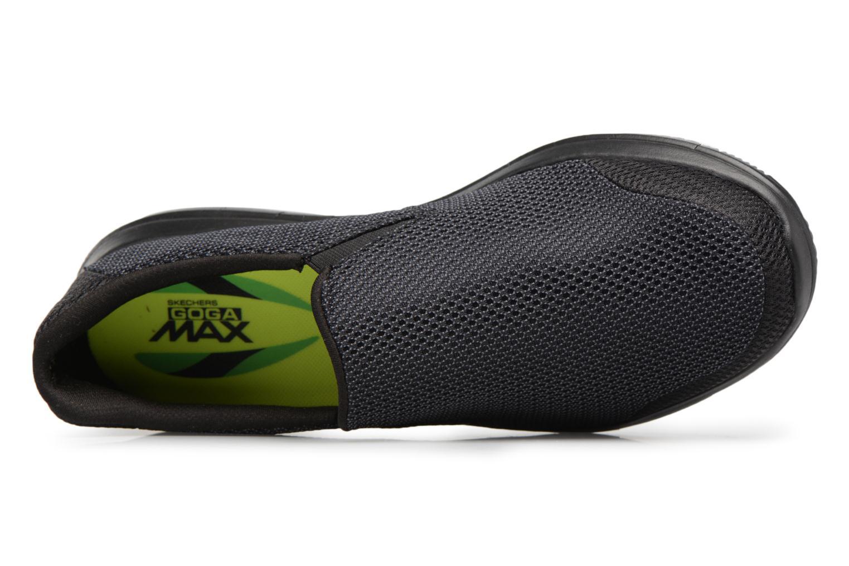Baskets Skechers Go Flex 2-Completion Noir vue gauche