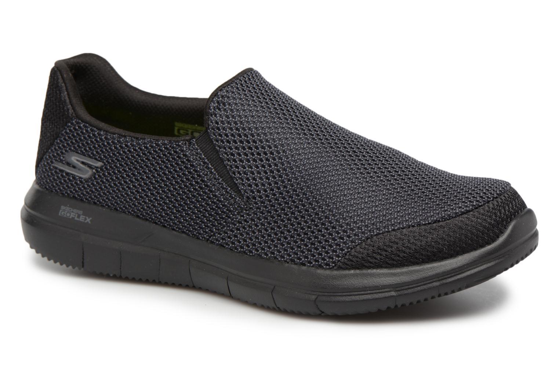Baskets Skechers Go Flex 2-Completion Noir vue détail/paire