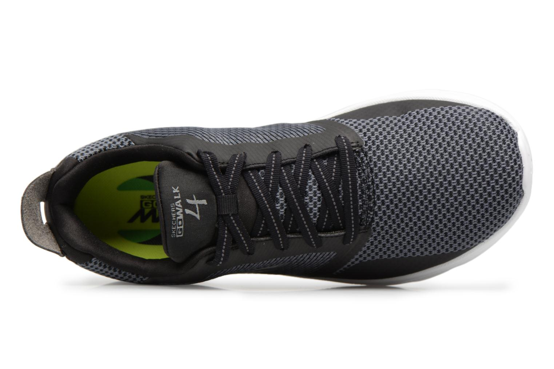 Sneakers Skechers Go Walk 4-Elect Sort se fra venstre
