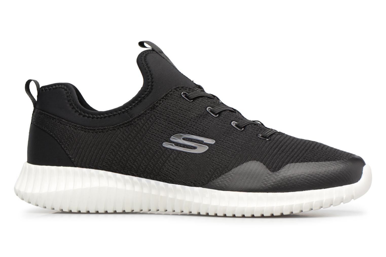 Sneakers Skechers Elite Flex-Lasker Zwart achterkant