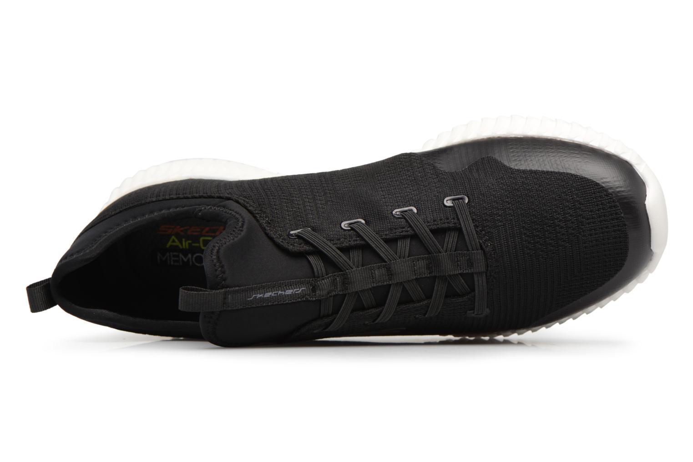 Baskets Skechers Elite Flex-Lasker Noir vue gauche