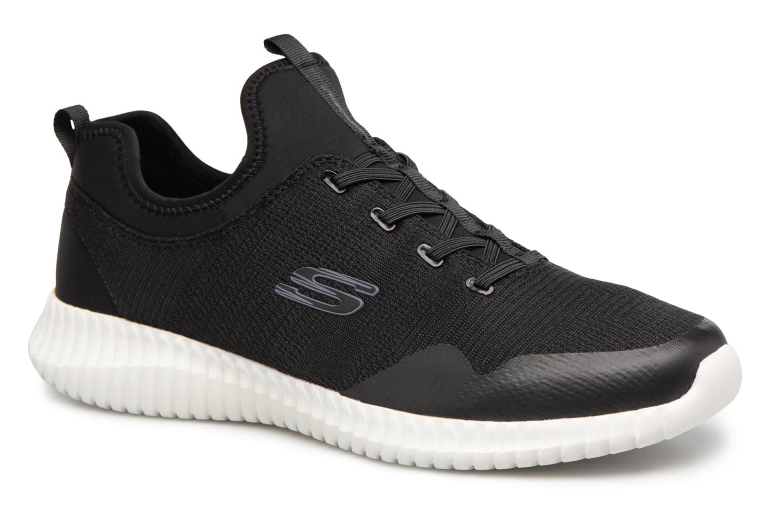 Skechers Elite Flex-Lasker (Noir) - Baskets chez Sarenza (322534)