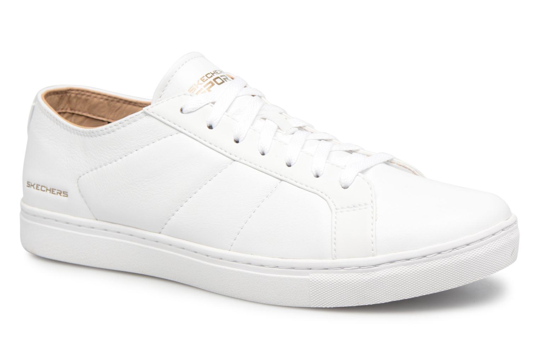 White Skechers Venice-T- (Blanc)