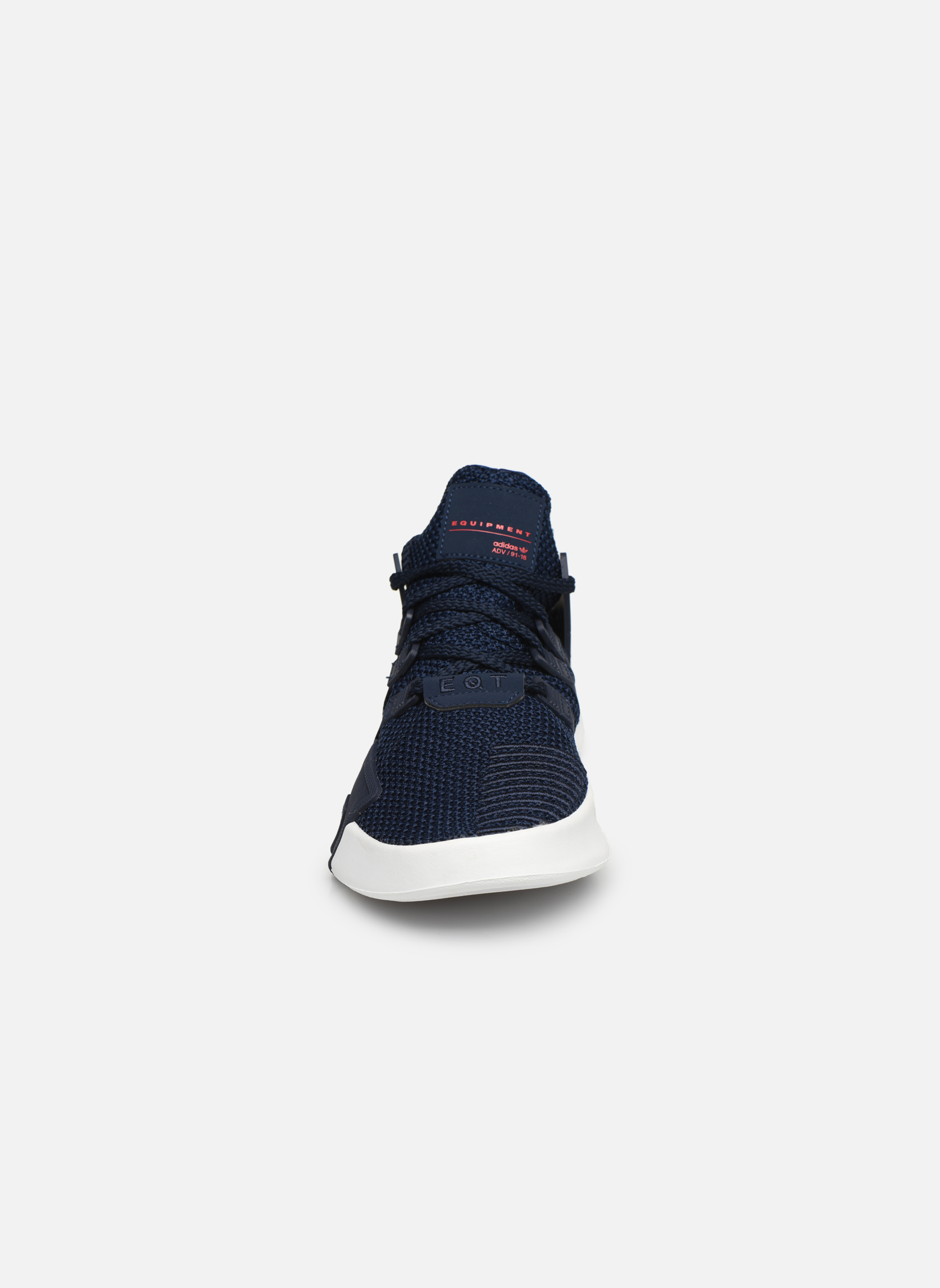 Baskets Adidas Originals Eqt Bask Adv J Bleu vue portées chaussures