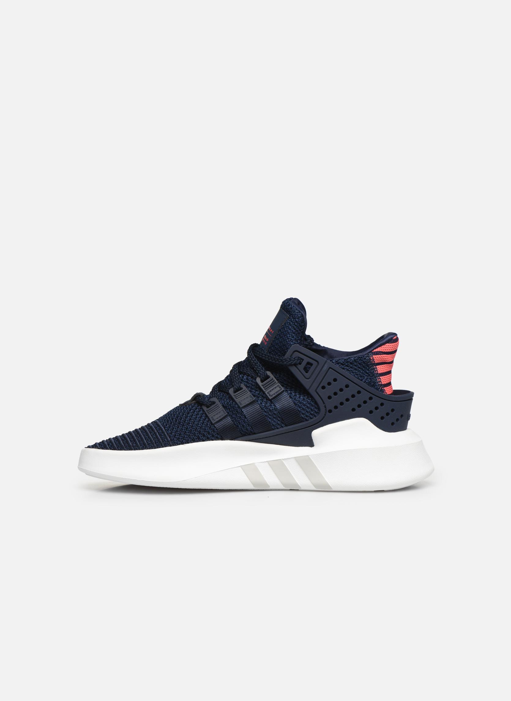 Baskets Adidas Originals Eqt Bask Adv J Bleu vue face