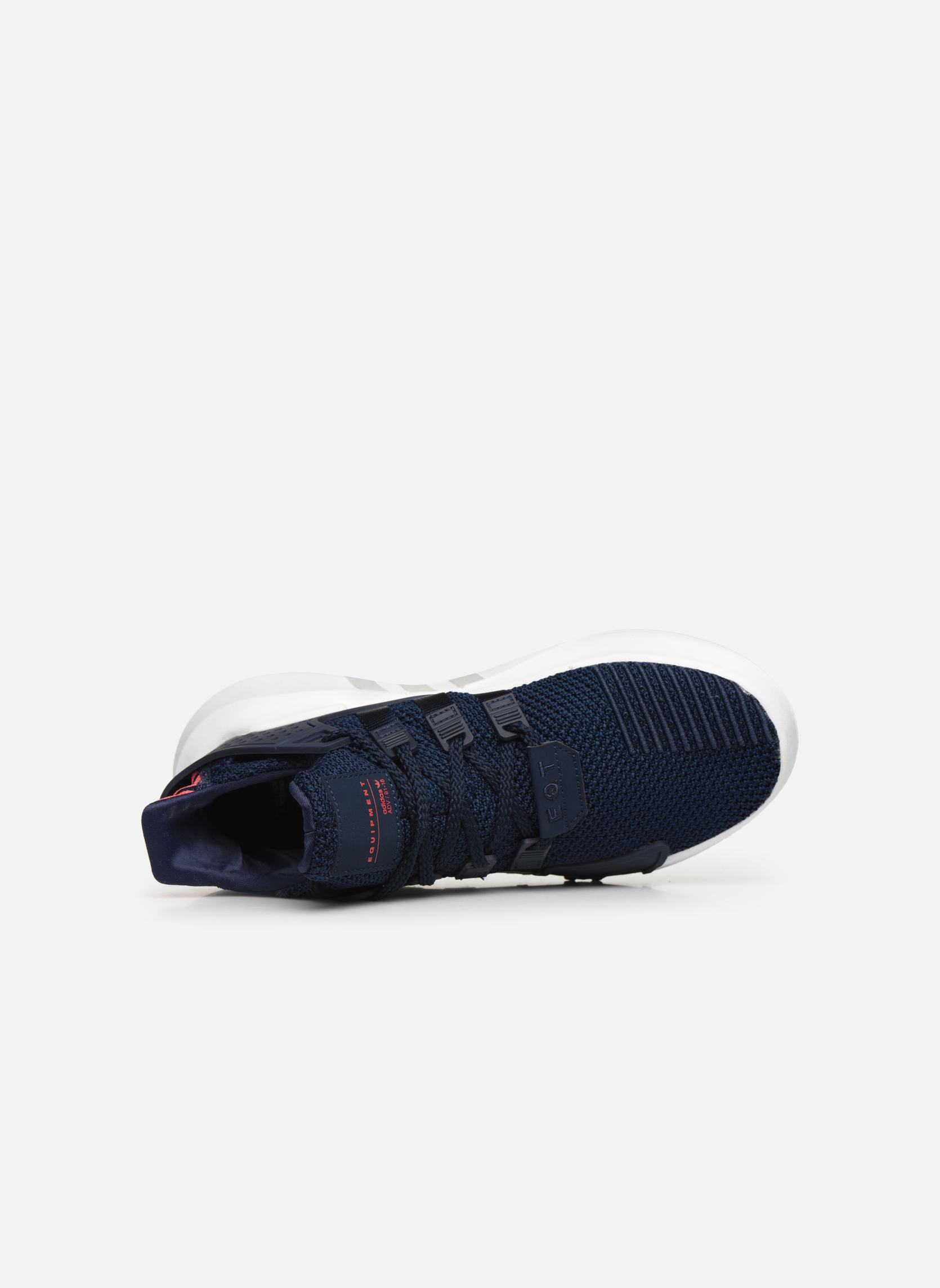 Baskets Adidas Originals Eqt Bask Adv J Bleu vue gauche