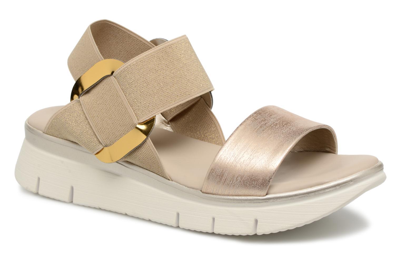 Grandes descuentos últimos zapatos The Flexx Fonzie (Oro y bronce) - Sandalias Descuento