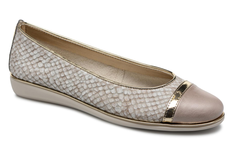 Grandes descuentos últimos zapatos The Flexx Rise A Line (Oro y bronce) - Bailarinas Descuento