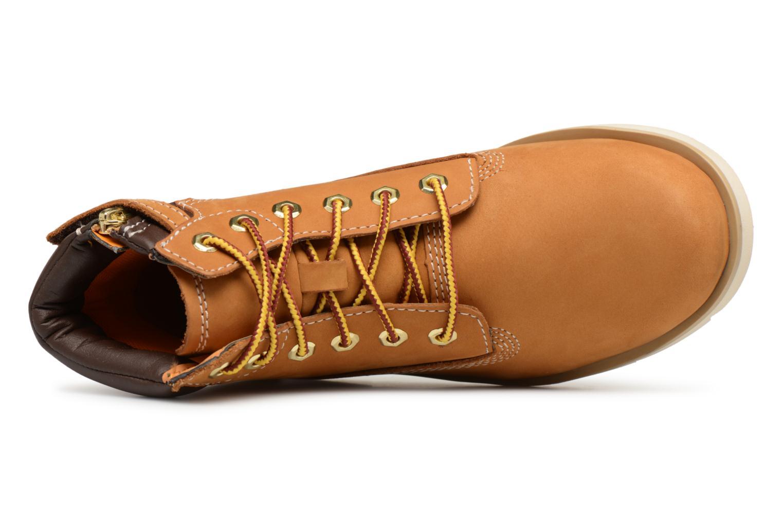 """Stiefeletten & Boots Timberland Radford 6"""" Boot Kids braun ansicht von links"""