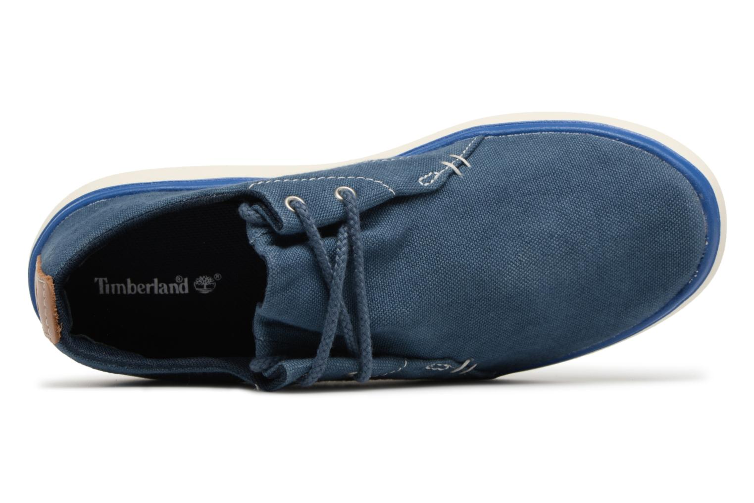 Midnight Navy Canvas Timberland Gateway Pier Oxford (Bleu)