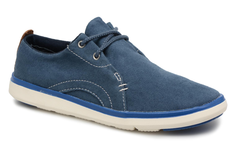 Sneaker Timberland Gateway Pier Oxford blau detaillierte ansicht/modell