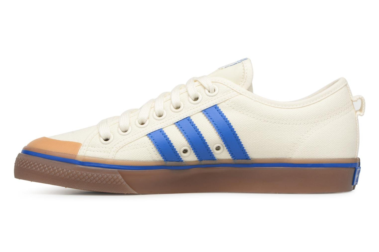 Baskets Adidas Originals NIZZA Blanc vue face