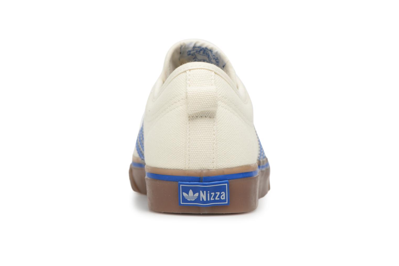Sneaker Adidas Originals NIZZA weiß ansicht von rechts