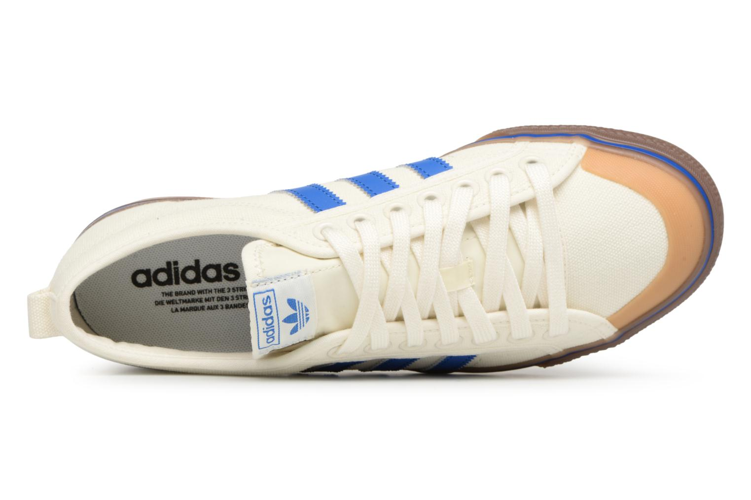 Baskets Adidas Originals NIZZA Blanc vue gauche