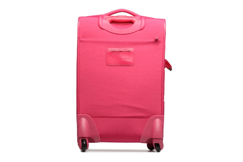 Bagage kipling YOURI SPIN 55 Roze voorkant