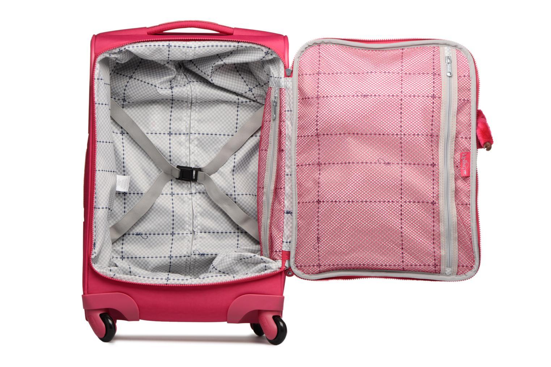 Bagage kipling YOURI SPIN 55 Roze achterkant