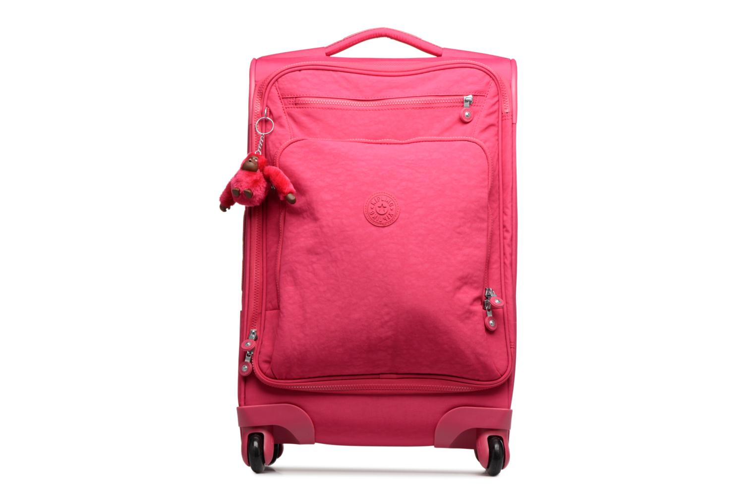 Bagages kipling YOURI SPIN 55 Rose vue détail/paire